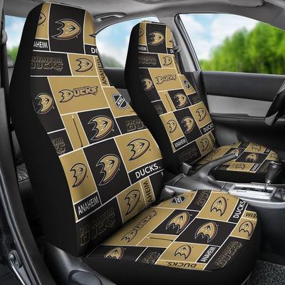 Anaheim Ducks (3 Styles) - Car Seat Covers (2pc Set)-MyStorify