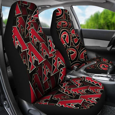 Arizona Diamondbacks (2 Styles) - Car Seat Covers (2pc Set)-MyStorify