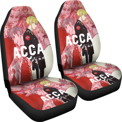 ACCA: 13-Territory Inspection Dept. - Car Seat Covers (2pc Set)-MyStorify