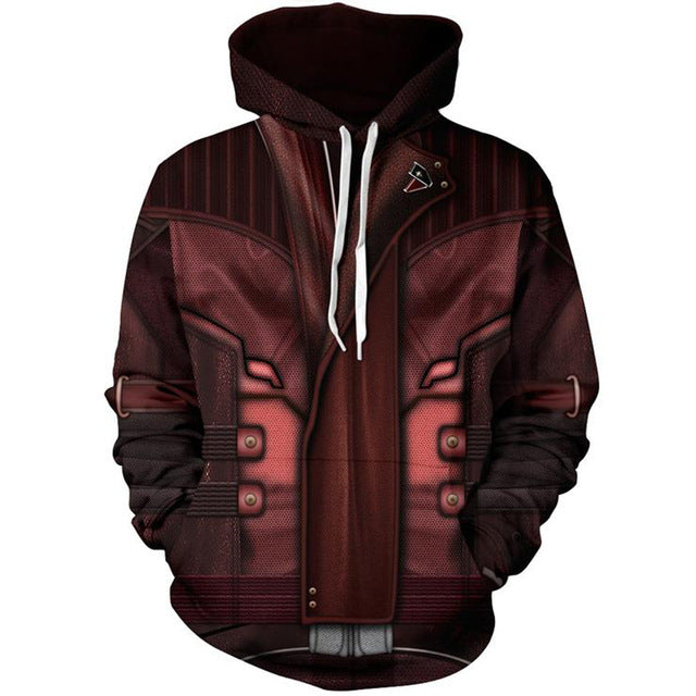 Avengers Infinity War - Star Lord - 3D Hoodie