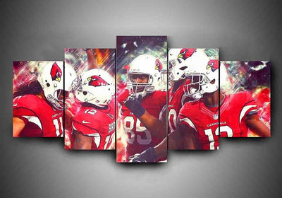 Arizona Cardinals (4 Styles) - 5-Piece Canvas Wall Art - MyStorify