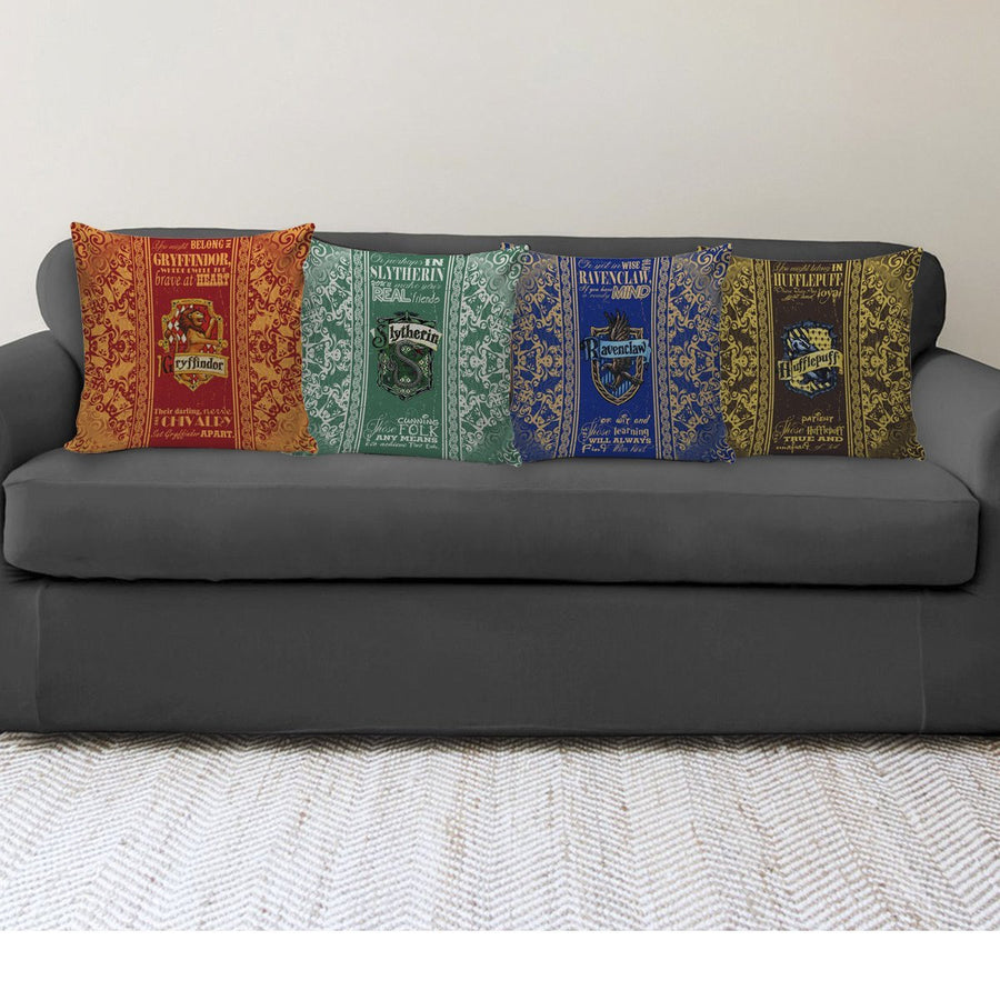 Pillow Cover - 4 houses - Harry Potter - TheSevenShop