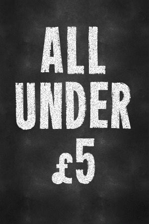 Items under £5
