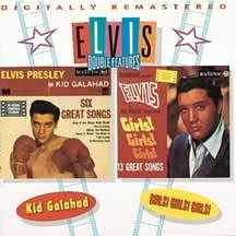 Elvis Presley - Kid Galahad - Girls! Girls! Girls! (Double Features 1) Audio CD