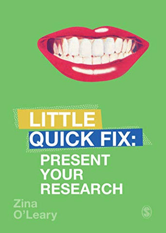 Present Your Research: Little Quick Fix