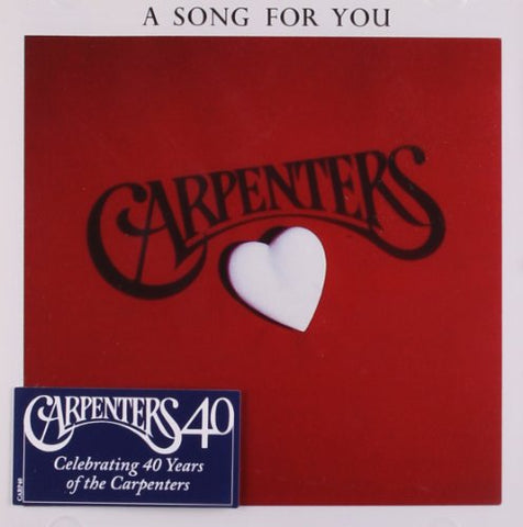 Carpenters - A Song For You Audio CD