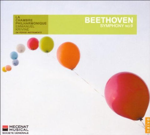 udwig van Beethoven - Beethoven: Symphony No. 9 'Choral' Audio CD