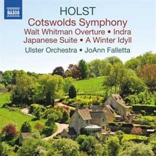 ustav Holst - Holst: Cotswolds Symphony / Walt Whitman Overture / A Winter Idyll / Japanese Suite / Indra Audio CD