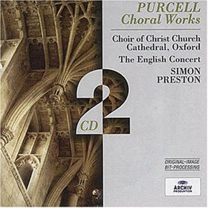 Henry Purcell - Purcell: Choral Works /Preston Audio CD