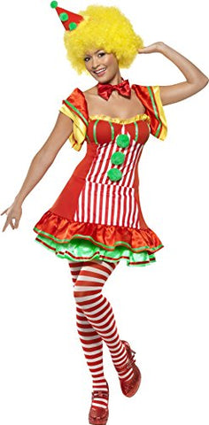 Boo Boo The Clown - Adult Fancy Dress Costume - Medium- Women: 12-14
