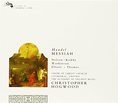eorge Frideric Handel - Handel: Messiah (Foundling Hospital Version 1754) Audio CD
