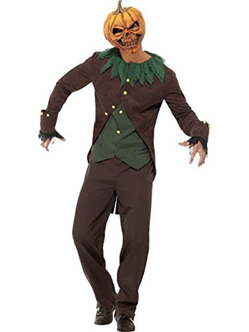 Adult Goosebumps Jack O Lantern Costume (Medium)