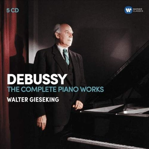 Walter Gieseking - Gieseking - The Piano Works (5 CD)
