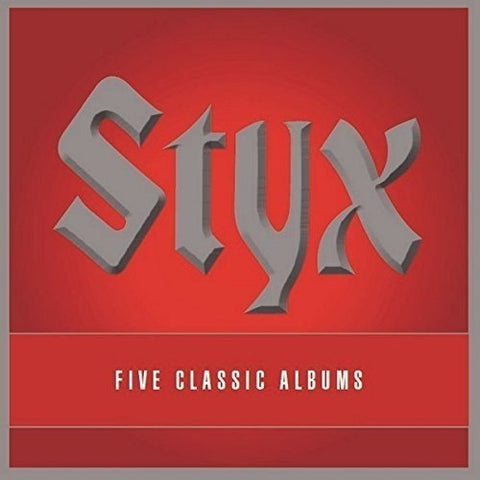 Styx - 5 Classic Albums Audio CD