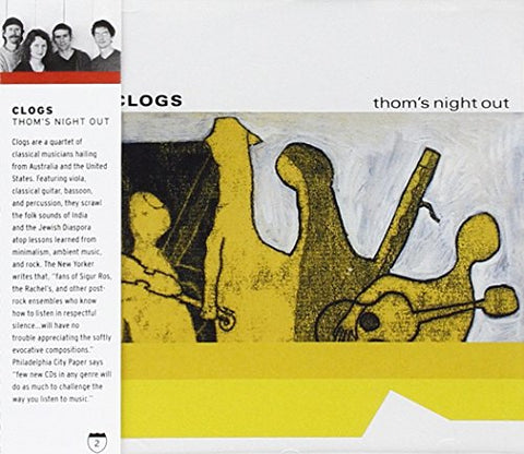 Clogs - Thoms Night Out Audio CD