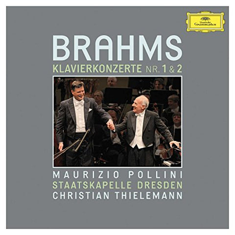 Maurizio Pollini - Brahms: Piano Concertos Nos. 1 and 2 Audio CD
