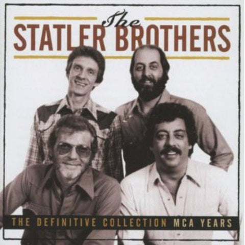 Statler Brothers - The Definitive Collection MCA Years Audio CD