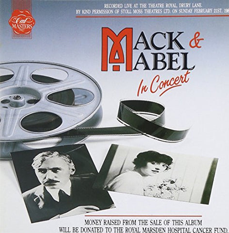 Mack and Mabel In Concert Audio CD