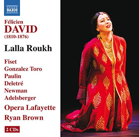 elicien David - David: Lalla Roukh, Opera-comique in Two Acts Audio CD