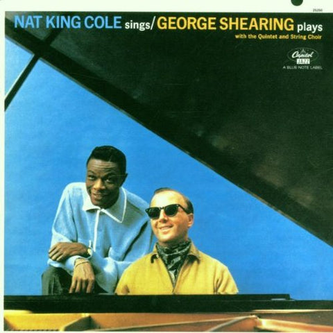 George Shearing - Nat King Cole Sings/The George Shearing Quintet Plays Audio CD