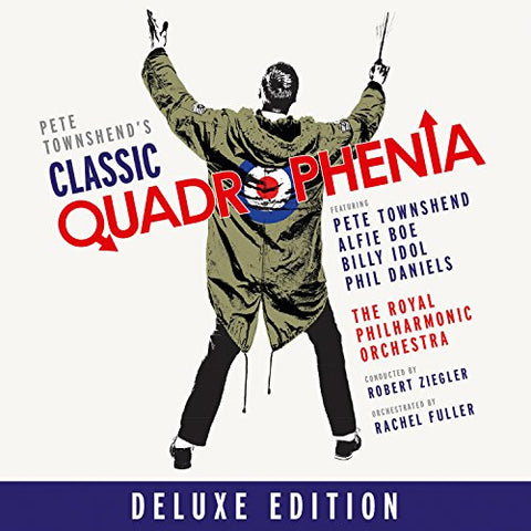 Alfie Boe Pete Townshend - Pete Townshend's Classic Quadrophenia with Alfie Boe  (CD and DVD)