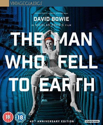 The Man Who Fell To Earth Collectors Edition [Blu-ray] [2016] Blu-ray