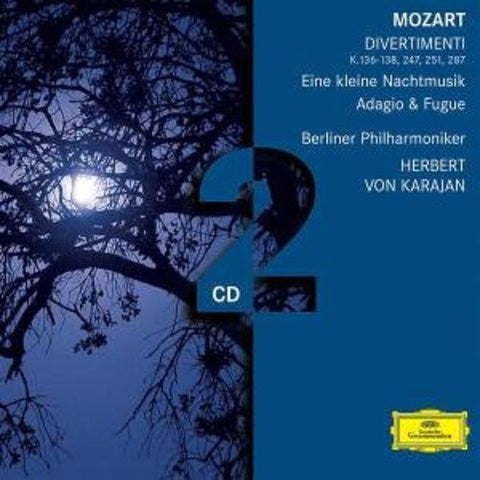 Berliner Philharmoniker Herbert Karajan - Mozart: Divertimenti Audio CD