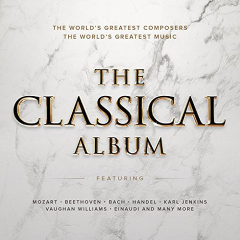 The Classical Album Audio CD