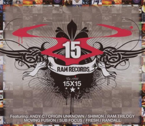RAM 15X15 Audio CD