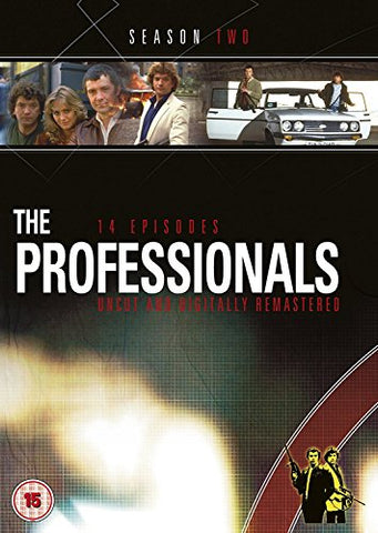 The Professionals - Series 2 (New Packaging) [DVD]