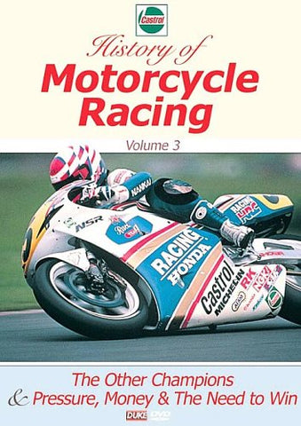 CASTROL MOTORCYCLE HISTORY VOL 3 DVD
