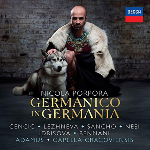 Max Emanuel Cencic - Porpora: Germanico in Germania Audio CD