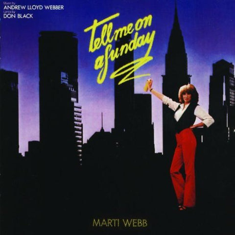 Marti Webb - Tell Me On A Sunday Audio CD