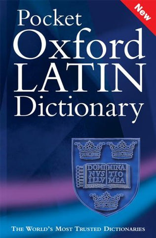 James Morwood - Pocket Oxford Latin Dictionary