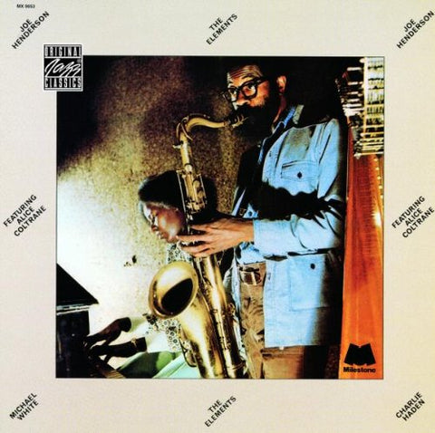 Joe Henderson - The Elements Audio CD