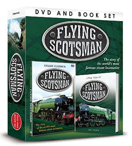 Flying Scotsman (DVD/Book Gift Set) (Portrait Dvdbook Gift Set)