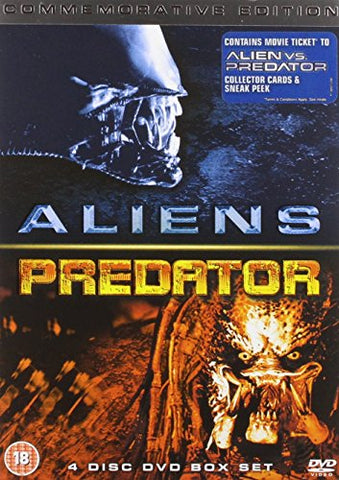 Aliens…. and Predator (4 disc edition) [DVD]