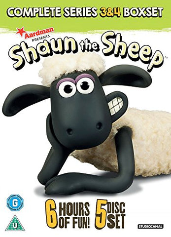 Shaun The Sheep - Series 3-4 Box Set [DVD]