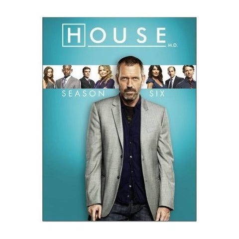 House - Season 6 [Blu-ray] [Region Free] Blu-ray