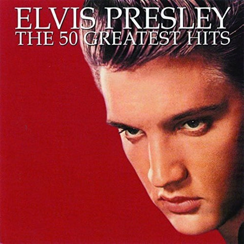 Elvis Presley - The 50 Greatest Hits Audio CD