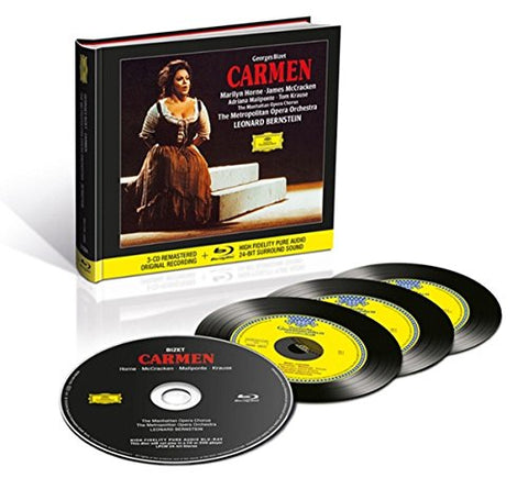 Adriana Maliponte - VARIOUS ARTISTS/BIZET: CARMEN Audio CD