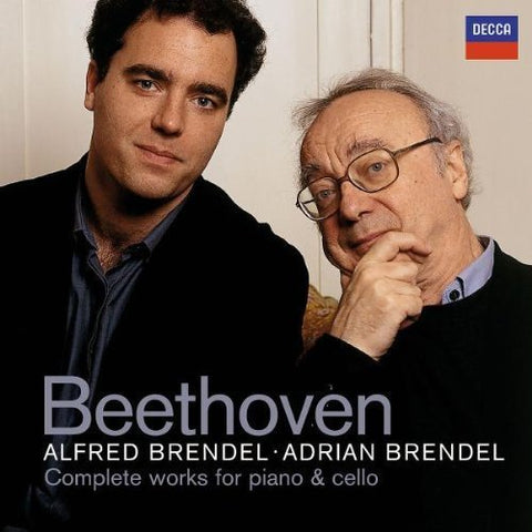 Alfred Brendel - Beethoven: Complete Works for Piano and Cello Audio CD