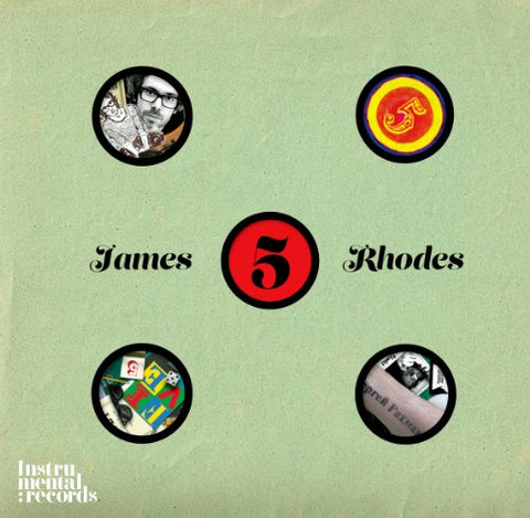 James Rhodes - Five - James Rhodes Audio CD