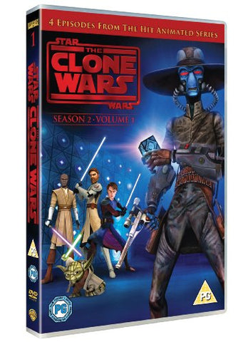 Star Wars: The Clone Wars - Season 2 Volume 1 [DVD] [2010]
