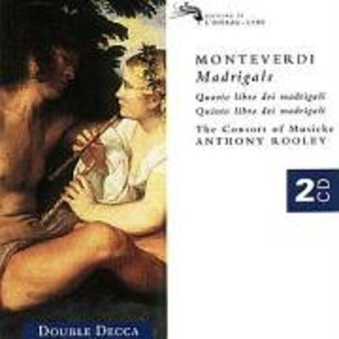 laudio Monteverdi - Monteverdi: Madrigals Audio CD