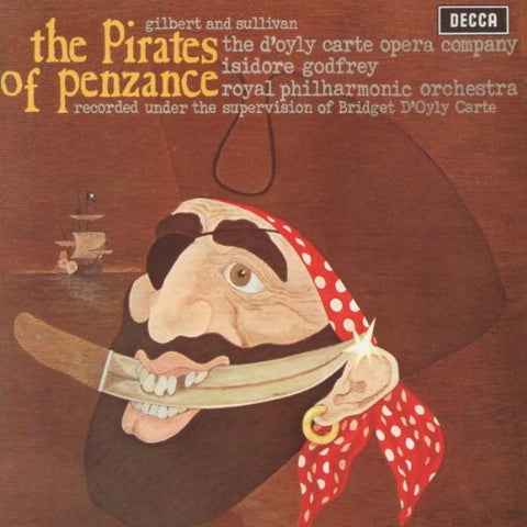 Royal Philharmonic Orchestra - Gilbert and Sullivan: The Pirates of Penzance Audio CD