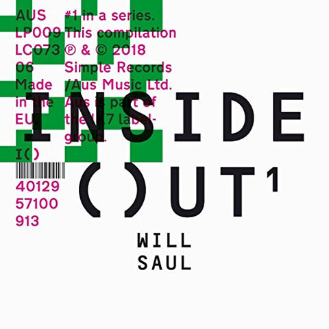 Will Saul - INSIDE OUT Audio CD