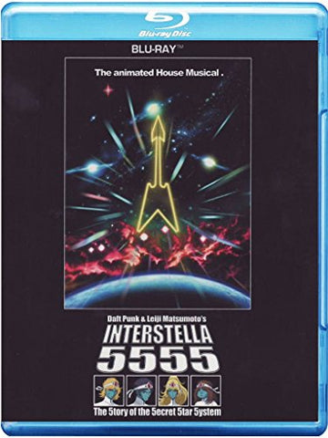 Daft Punk Leiji Matsumotos Interstella 5555 - 5tory of 5ecret 5tar 5ystem Sent Sameday* Blu-ray