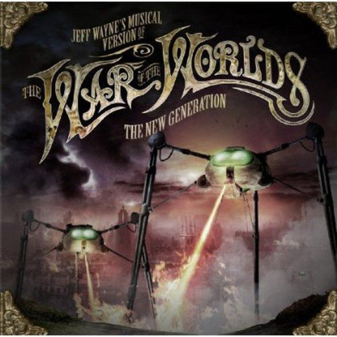 Jeff Waynes Musical Version Of The War Of The Worlds - The New Generation Audio CD