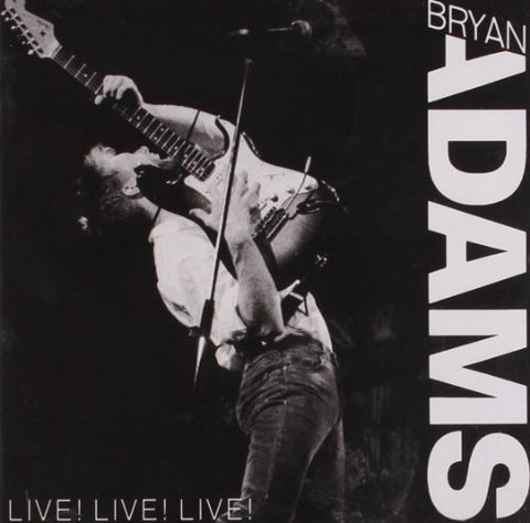 Bryan Adams - Live! Live! Live! Audio CD